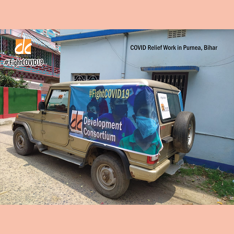 DC_COVID19 Relief_Purnea car_May 2020
